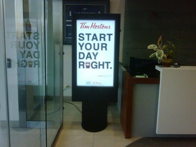 Digital Signage hospitality