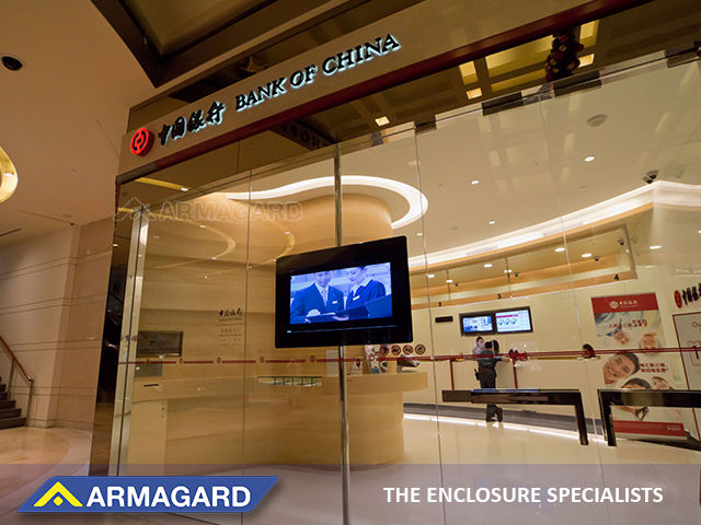 digital signage in-branch to tell stories about your bank