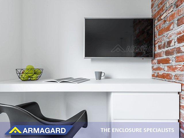 Digital signage in a home office