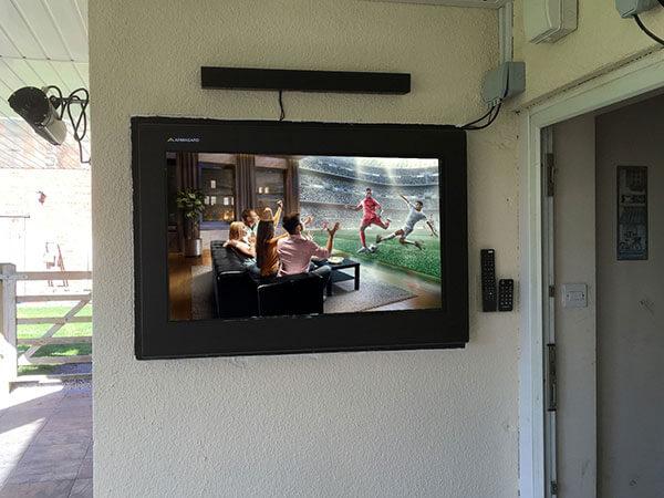 recessed LCD digital signage enclosure