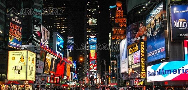 Digital LED boards in New York