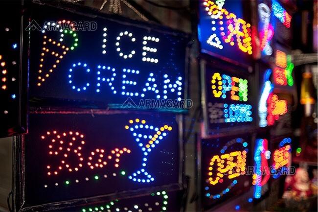 LED menu boards