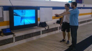 British Swimming LCD enclosures