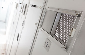 custody suite at a Police Centre