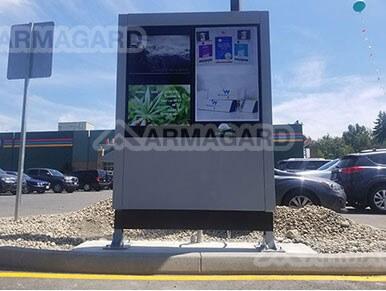 Dual Screen Armagard Enclosure System