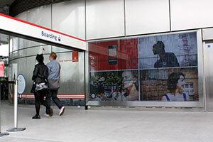 165 inch, custom-made video wall enclosure