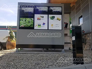 JayMarc AV Triple Screen Armagard Enclosure