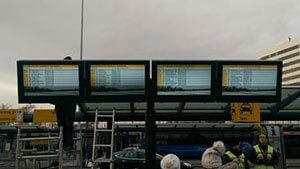 NEC & Schipol Airport LCD Enclosures