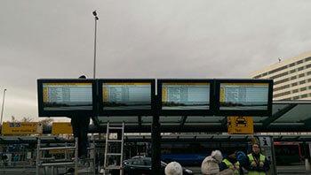NEC & Schiphol Airport LCD enclosures