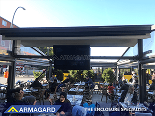 outdoor tv enclosure Armagard