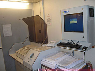 PENC-300 compact computer enclosure in action
