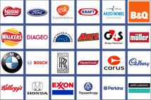 Logos of some of the companies who rely on Armagard to protect their computer systems