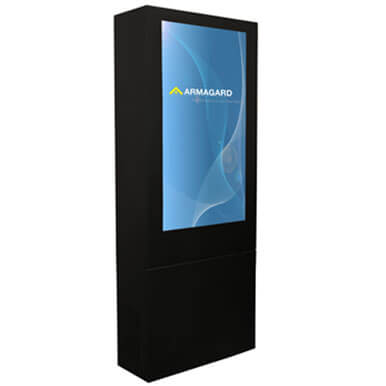 "55"" digital signage enclosure"