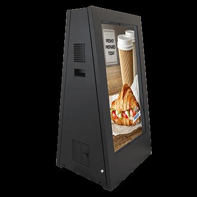 Portable Electronic Sandwich Board