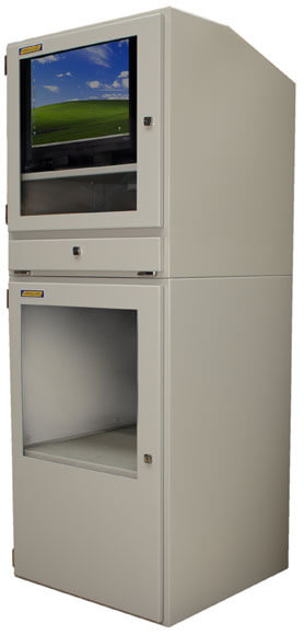 Industrial Computer Cabinet | IP54 protection with the 'all-in-one ...