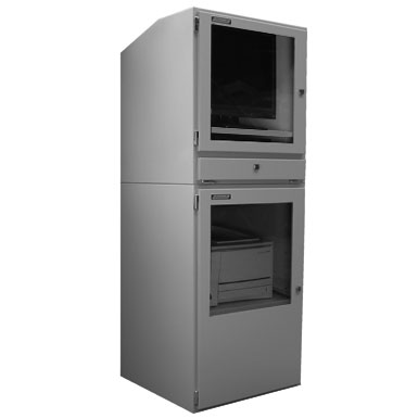Industrial Computer Cabinet | PENC800   PPRI 700 Industrial Computer Cabinet