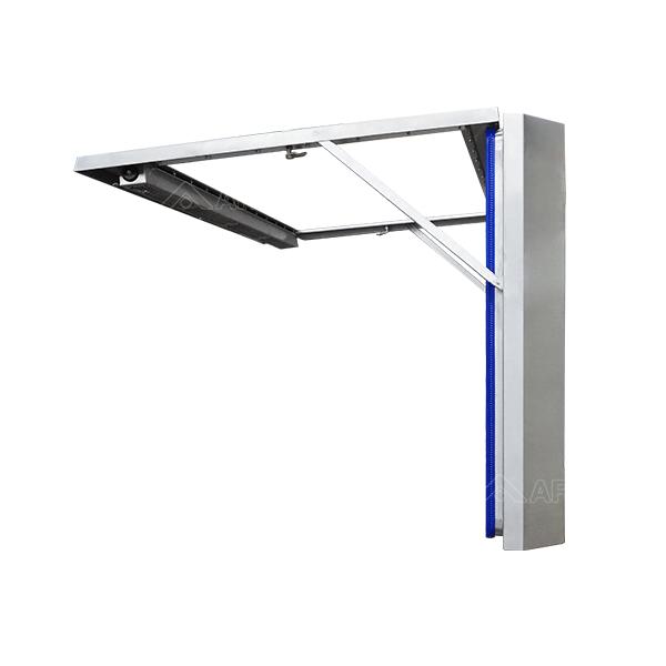 IP69K Hygienic TV Display side open view