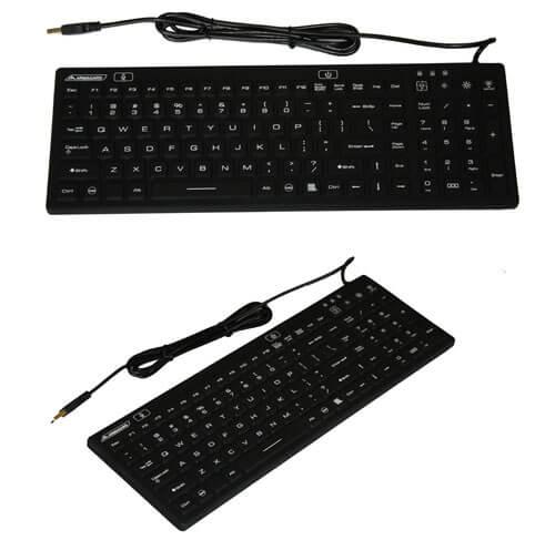 Illuminated Keyboard Black