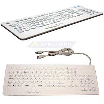 Washable Keyboard White