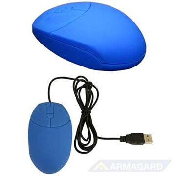 Waterproof Mouse blue