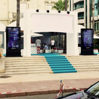 Outdoor Digital Advertising Display
