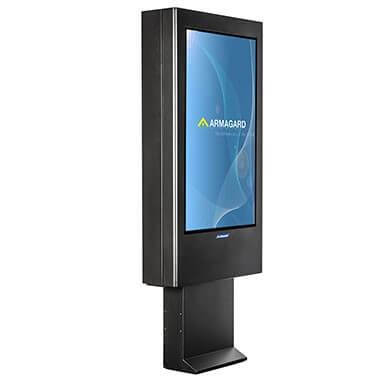 Outdoor digital display