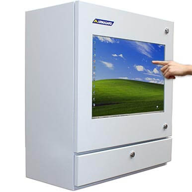 PENC-550 Manufacturing floor touch screen