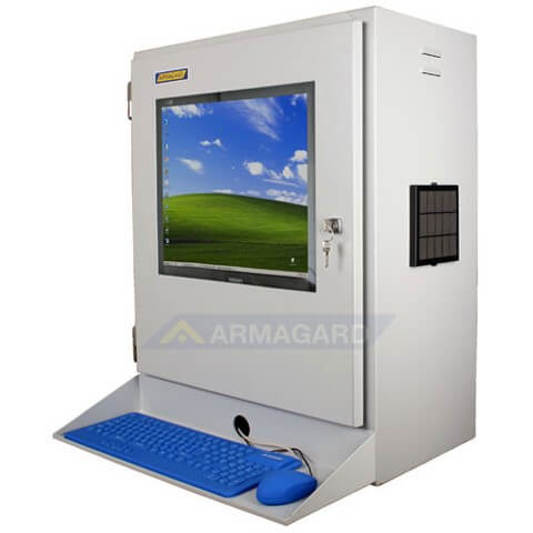 Industrial Lcd Monitor Enclosure Nema 4 Lcd Screen