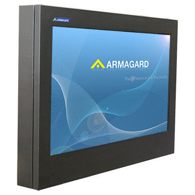 Slim profile Professional Outdoor LED Display Enclosure