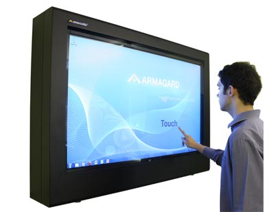 Digital Signage Touch Screen Enclosure