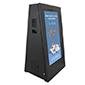 Digital signs on castors | product range