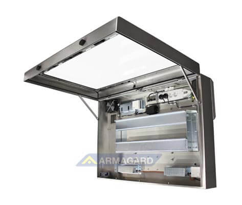 Waterproof Lcd Enclosure Tv Protection For Wet