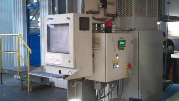 industrial computer cabinet air intake