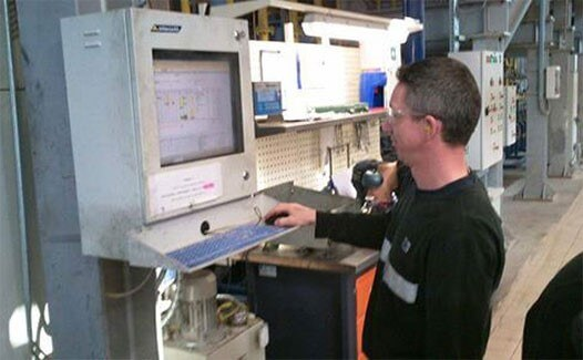 industrial computing factory