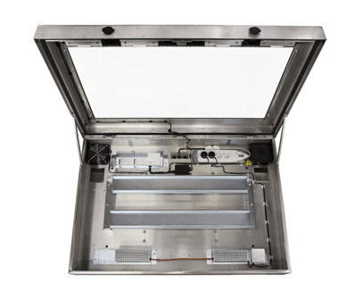 stainless steel LCD enclosure
