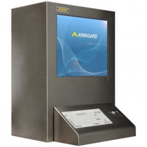 stainless steel atex certified computer enclosure