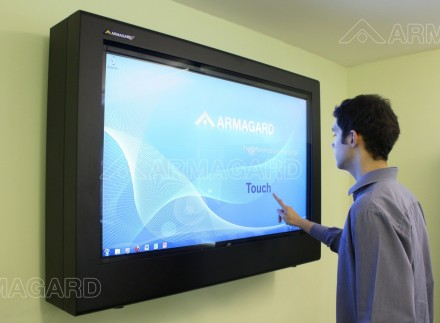 A Touchscreen LCD enclosure | Armagard 2012