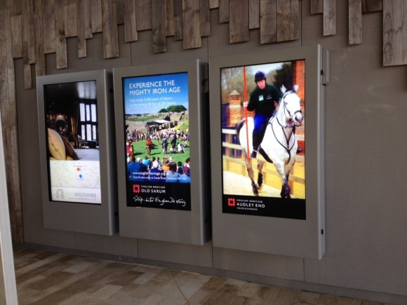 Armagard custom-made LCD enclosures in action at new Stonehenge Visitor Centre