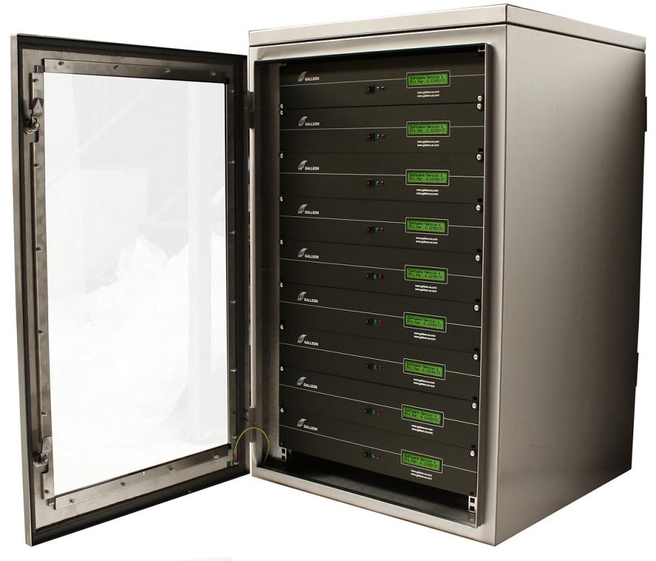 Waterproof Rack Mount Cabinet Preventing Server Downtime