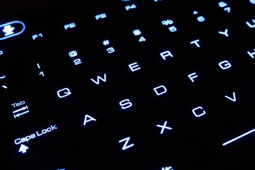 Armagard's rugged illuminated keyboard