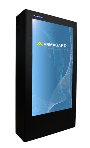 "Armagard's 42"" portrait enclosure"