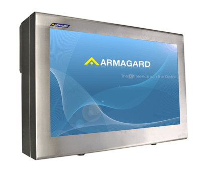 "Armagard's 55"" Stainless Steel Landscape Enclosure"