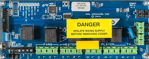 Armagard's Microprocessor Controller Board