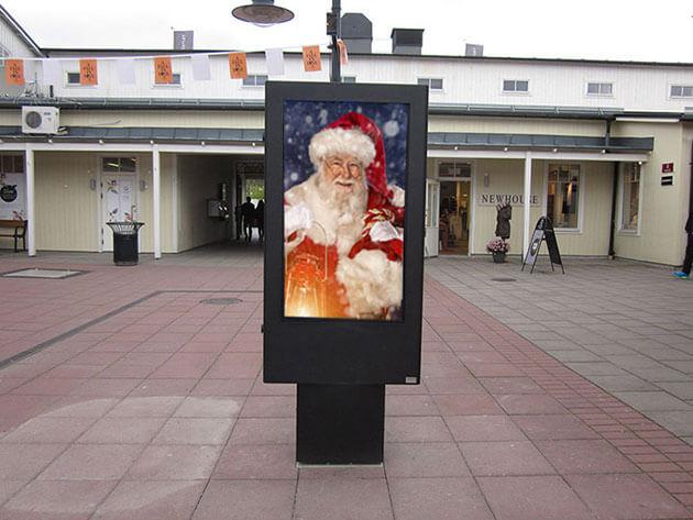 Digital signage christmas