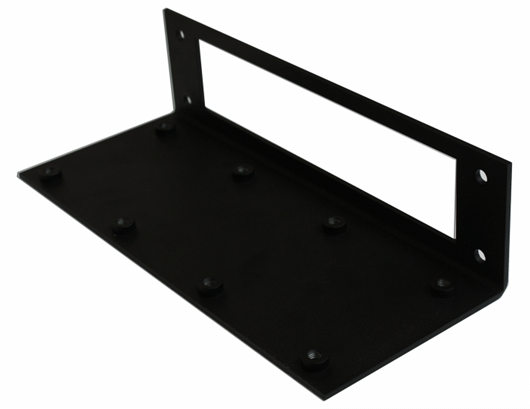 assembling an digital signage dual mount bracket