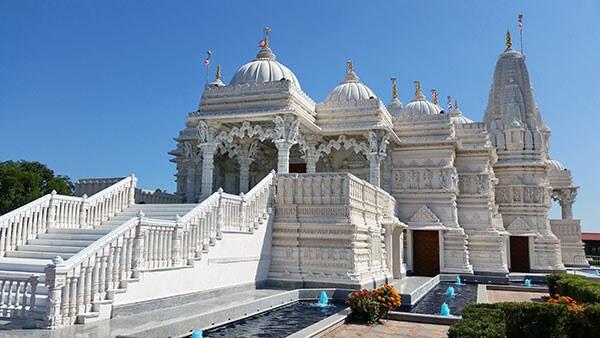 digital signage Hindu Temple