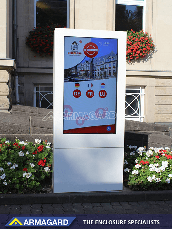look and feel of digital signage is changing