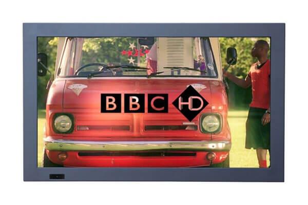 digital signage screen bezel