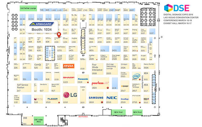 DSE 2016 Floorplan