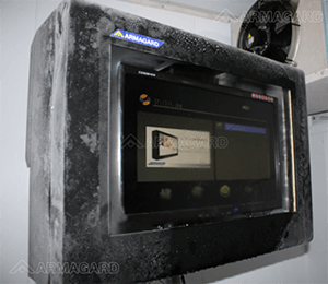 enclosure tested in extreme temperatures